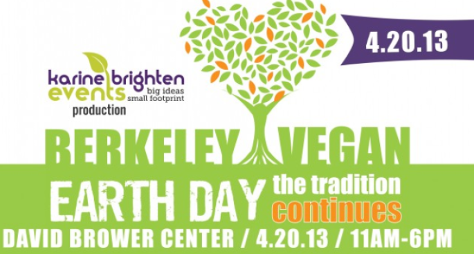 Berkeley Vegan Earth Day April 20