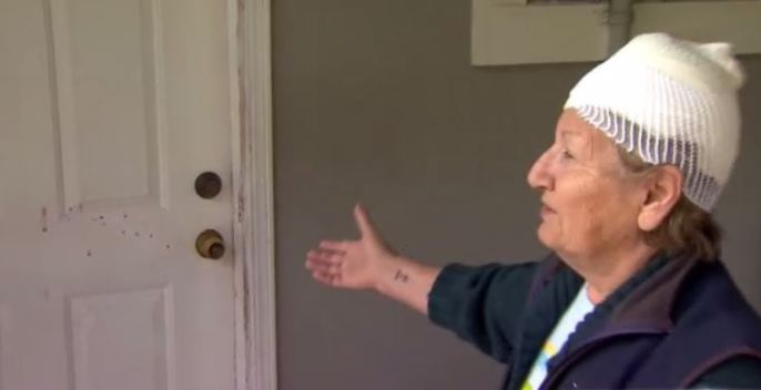 Elderly Man Detains Intruder Who Attacked His Wife in Their