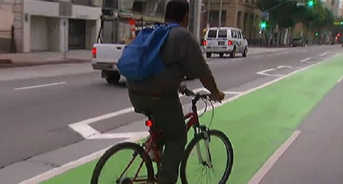 Report: Most Bike Routes in SF Unsafe, For Experts Only