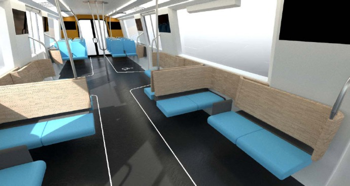 BART Orders More Vinyl Seats as Passengers Approve