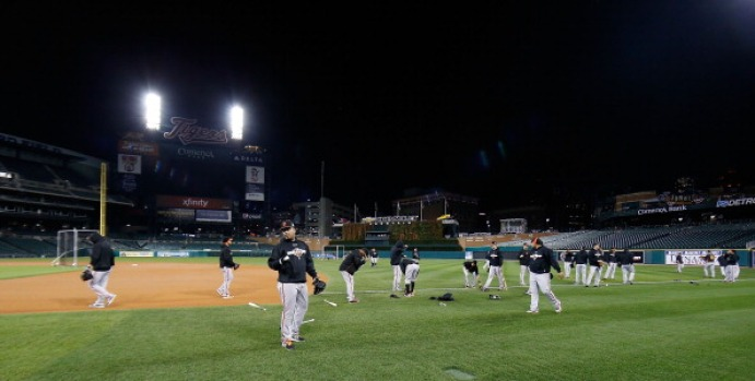 Giants Get Ready for World Series Game 3