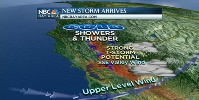 [BAY] Videocast: Thunderstorms, Hail And Gusty Wind