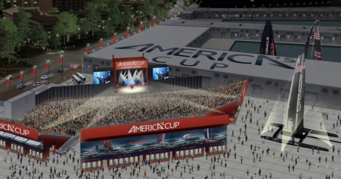 America's Cup Concerts Debated Again Tonight