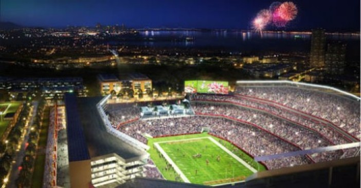 "49ers Ignore ""the Most stunning NFL Venue in the Country"""