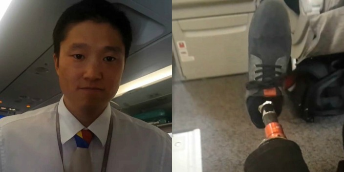 'You're Not a Normal Person:' SF Man With Prosthetic Leg Asked to Vacate Exit Row Seat on Asiana Flight