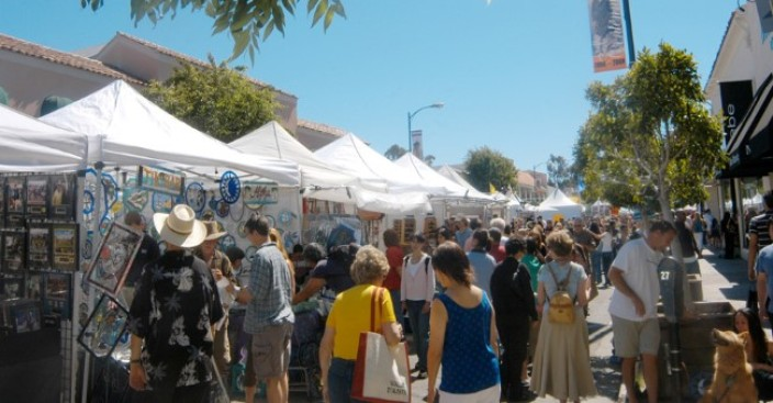 Burlingame Avenue Summer Art and Music Festival
