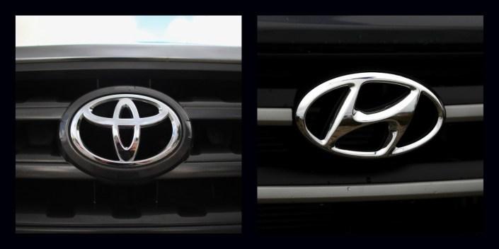 Toyota, Hyundai Recall Roughly 110,000 Vehicles