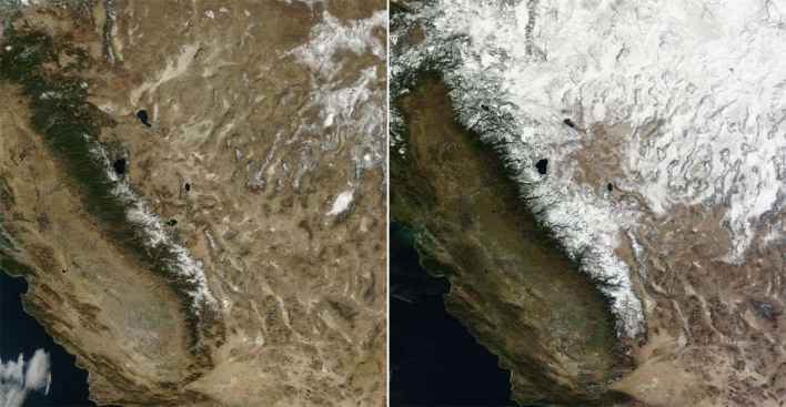 California Snowpack at 18 Percent of Average