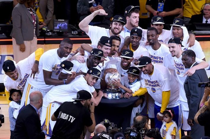 Golden State Warriors 2015 Playoff Photos