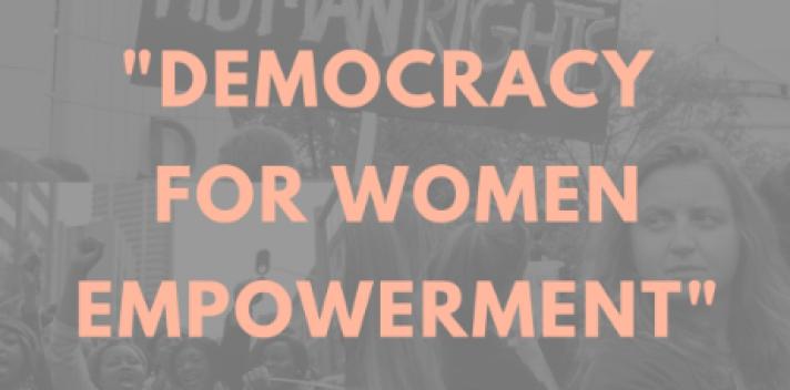 Panel: Democracy for Women Empowerment