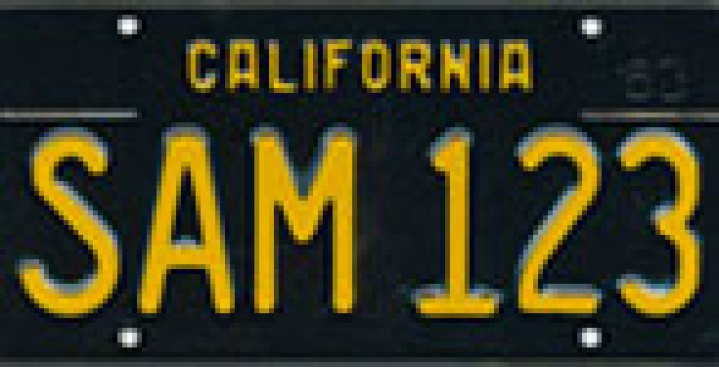 "Calif. DMV May Reissue ""Vintage"" Classic License Plates"