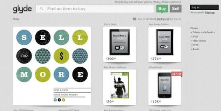 Glyde Takes the Friction Out of Buying and Selling Used Goods Online