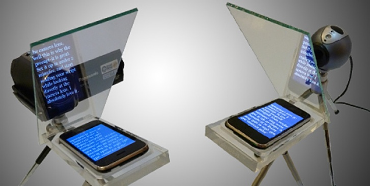 Turn Your iPhone Into a Real Teleprompter