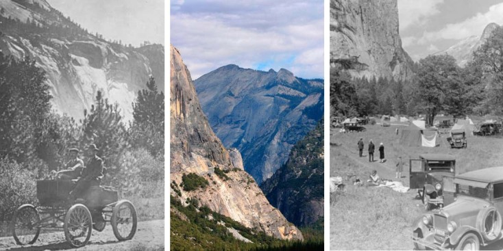 [LA GALLERY] Vintage Photos: Yosemite National Park, Then and Now