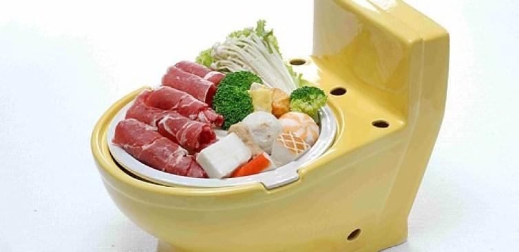 Sushi a la Toilet