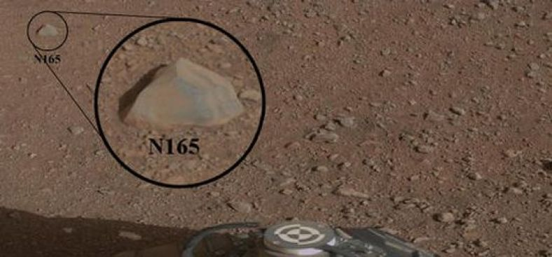 Curiosity Zaps Rocks with Laser