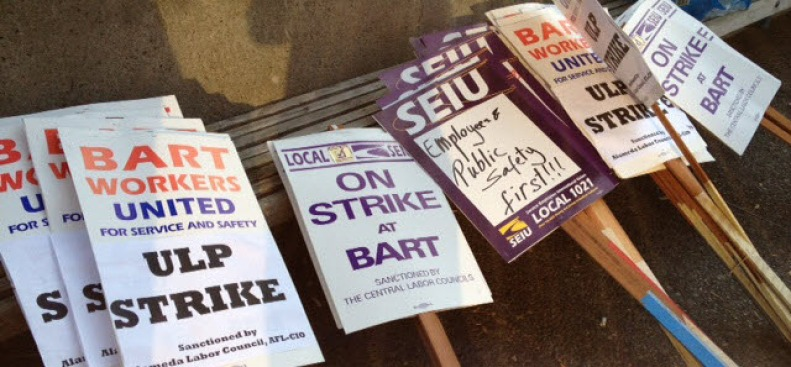 BART Union Leaders to Hold News Conference Monday on Negotiations