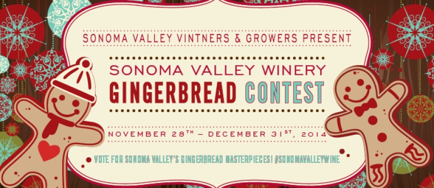 Sonoma Valley 2014 Gingerbread Winery Competition