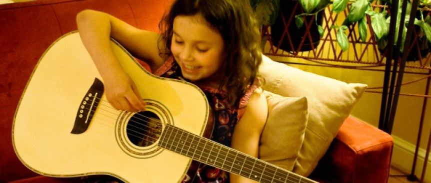 Family Supportive Housing's Guitars Not Guns Program