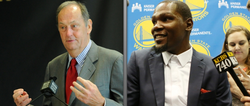 Bill Bradley: 'I Don't Understand' Durant Joining Warriors