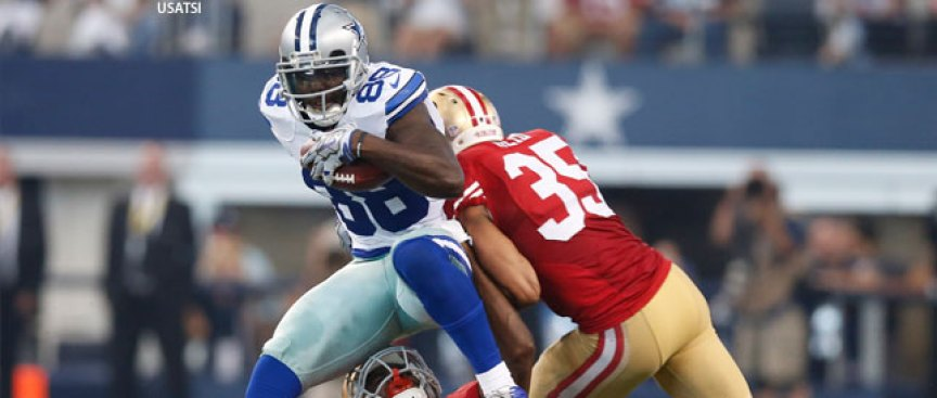 Dez Bryant Has Hairline Fracture, Status Vs 49ers Up in the Air