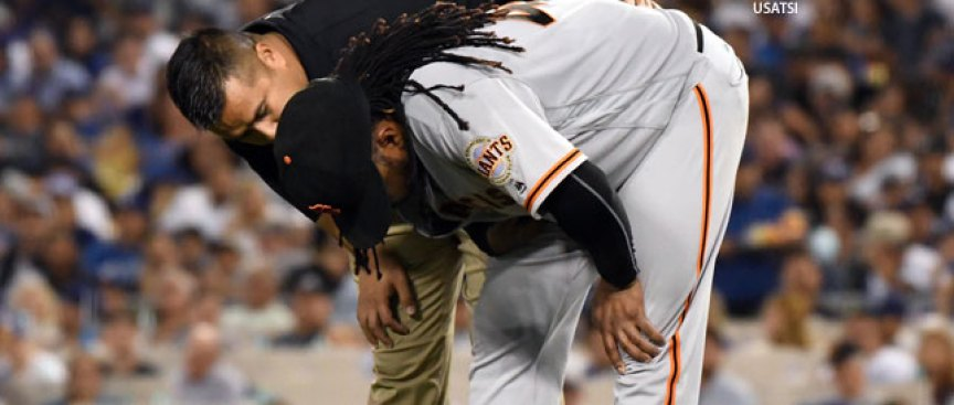 Crawford Gets Good News, Giants RHP Cueto Will Get an MRI