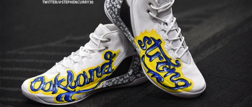 62919986126f Steph Curry to Auction Game-worn Shoes to Benefit Oakland Fire Relief