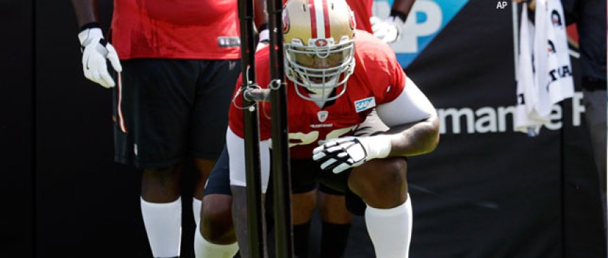Anthony Davis to Start at RG, Back Up at 49ers' Tackle Spots