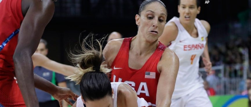 US Women Blow Past Spain, Move to 2-0 at Rio Olympics
