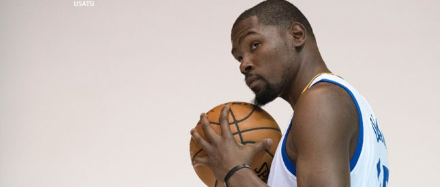 Durant Woke Up 'anxious' to Start Camp With Warriors