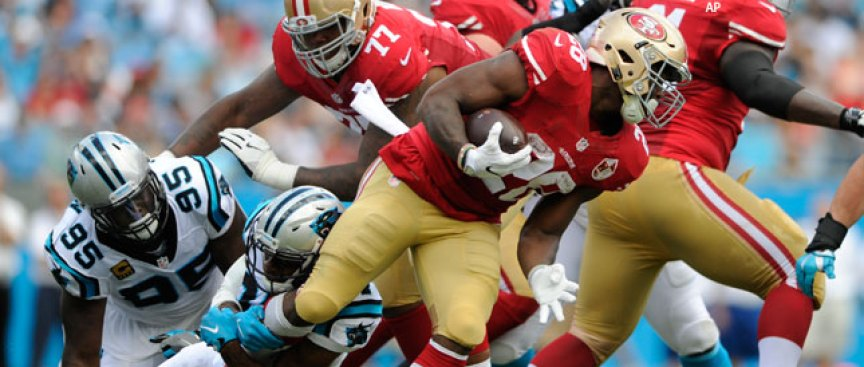 49ers' Offense Sputters in Loss to Panthers: 'Unacceptable'