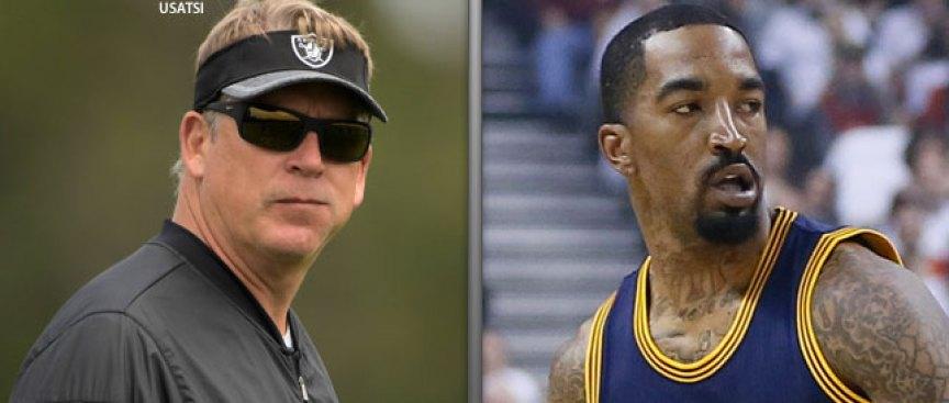 Raiders' Del Rio Pours Cold Water on JR Smith's Comments: 'Big IF...'