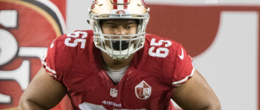 Notes: Garnett Practices at Both Guard Spots for 49ers