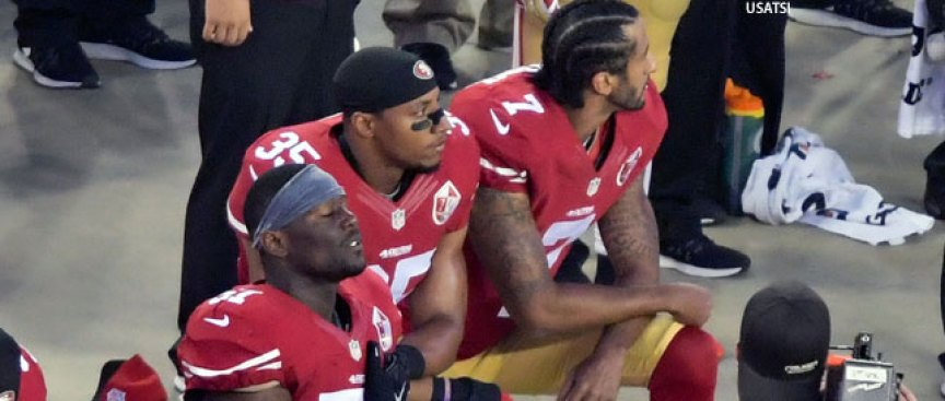 Four 49ers Join Kaepernick, Reid in Protest