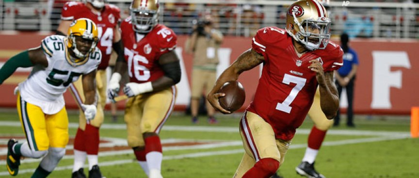 Kelly Doesn't Rule Out Using Kap Off Bench as Runner