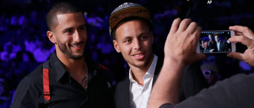 Steph Curry Voices Support for Colin Kaepernick