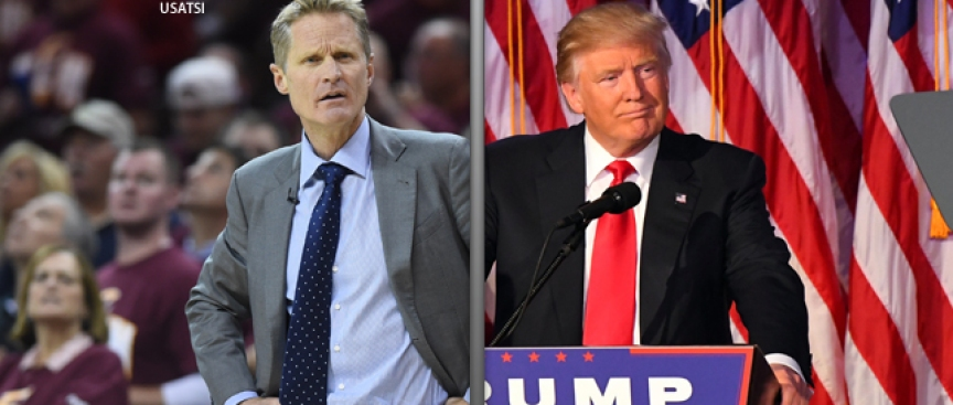 Raw as a Nation: Kerr, NBA Baffled America Chose Trump