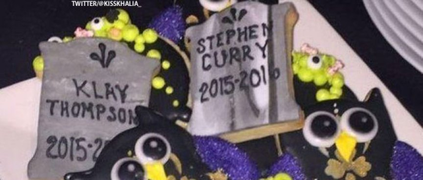 Cavs Troll Warriors at LeBron's Halloween Party, Klay Responds