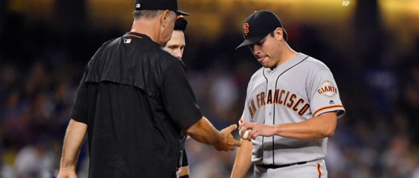Instant Replay: Moore Rocked, Giants Leave LA Down Six