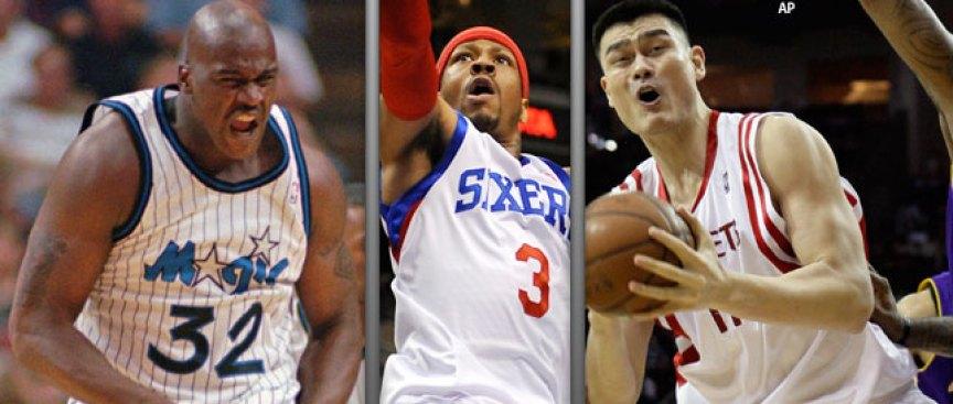 Shaq, Iverson, Yao Headline 'extraordinary' Hall Class