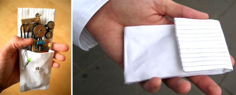 You're Busted: Cell Phone-Detecting Pocket Square