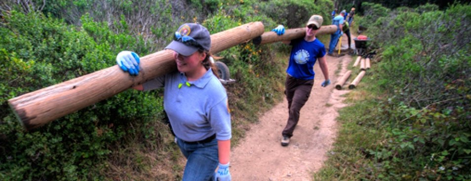 Golden Gate National Parks Conservancy MLK Day of Service