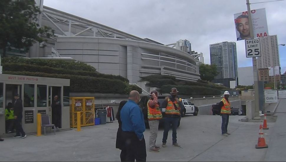 Worker Pinned to Wall, Killed at San Francisco Moscone Center