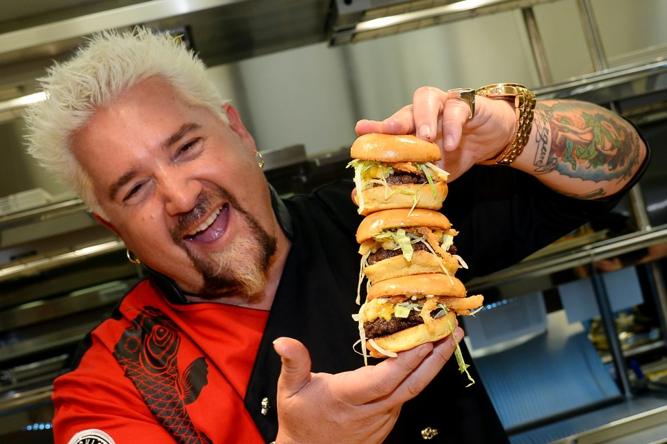 Guy Fieri Wants Out of Johnny Garlic's Restaurant Chain
