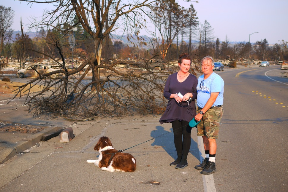 'Looks Like a Nuclear Explosion': Some Coffey Park Residents Say They Won't Be Coming Back