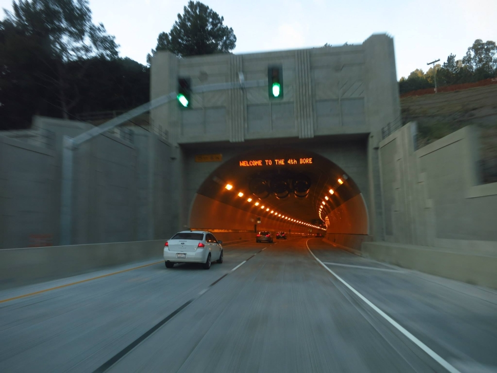 Expect Delays at Caldecott Tunnel