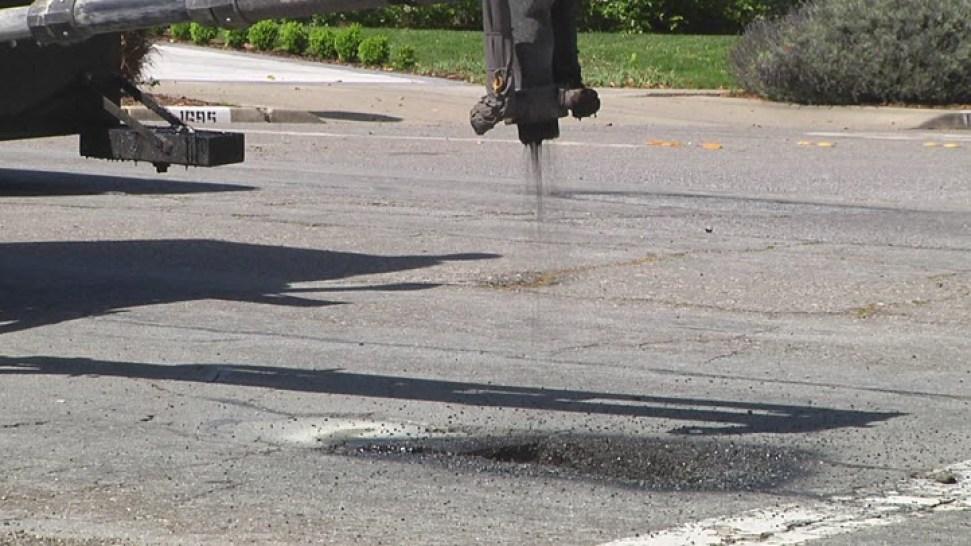 San Jose Crews Work to Repair Potholes Following Heavy Storms