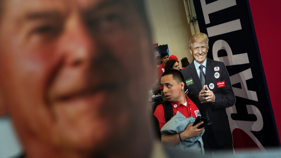 Republican Candidates Claim Reagan Mantle, but Forget His Words