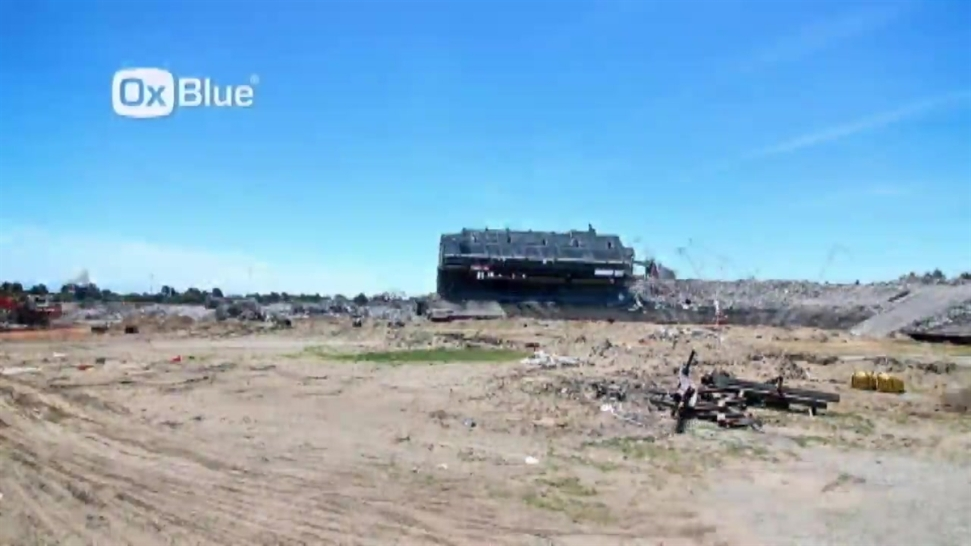 Candlestick Park Demolition