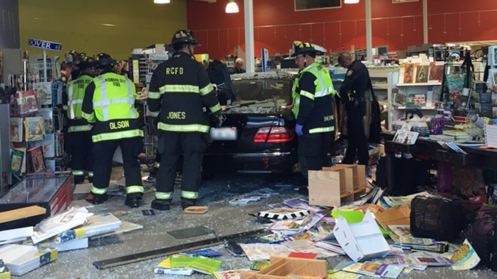 Car Plows Into Redwod City Art Store